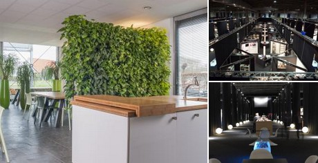 Zuidkoop presenteert natural wall roomdivider op architect work