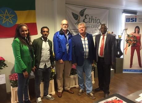 Ethiopian rose grower Agri Lake meets Dutch buyers
