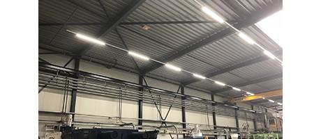 M-plastics schakelt over op duurzame LED verlichting